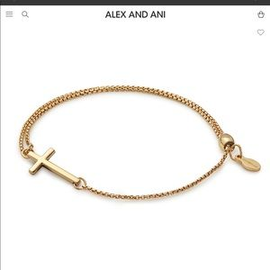 Providence Collection Pull Chain Cross Bracelet